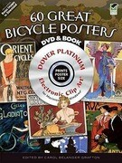 Vintage Bicycle Posters CD-ROM and Book