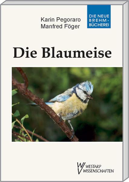 Die Blaumeise als Buch (kartoniert)