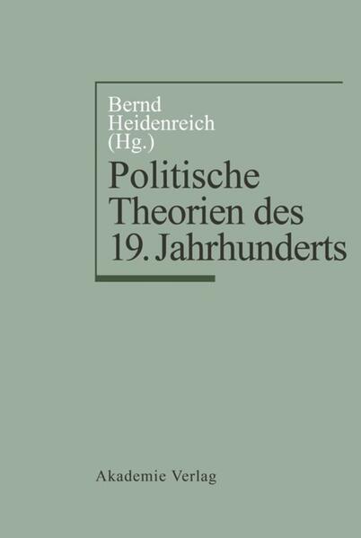 Politische Theorien des 19. Jahrhunderts als Buch (kartoniert)