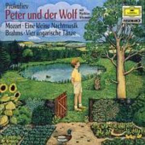 PETER UND DER WOLF/UNGARISCHE TÄNZE 1,3,5,6/+ als CD