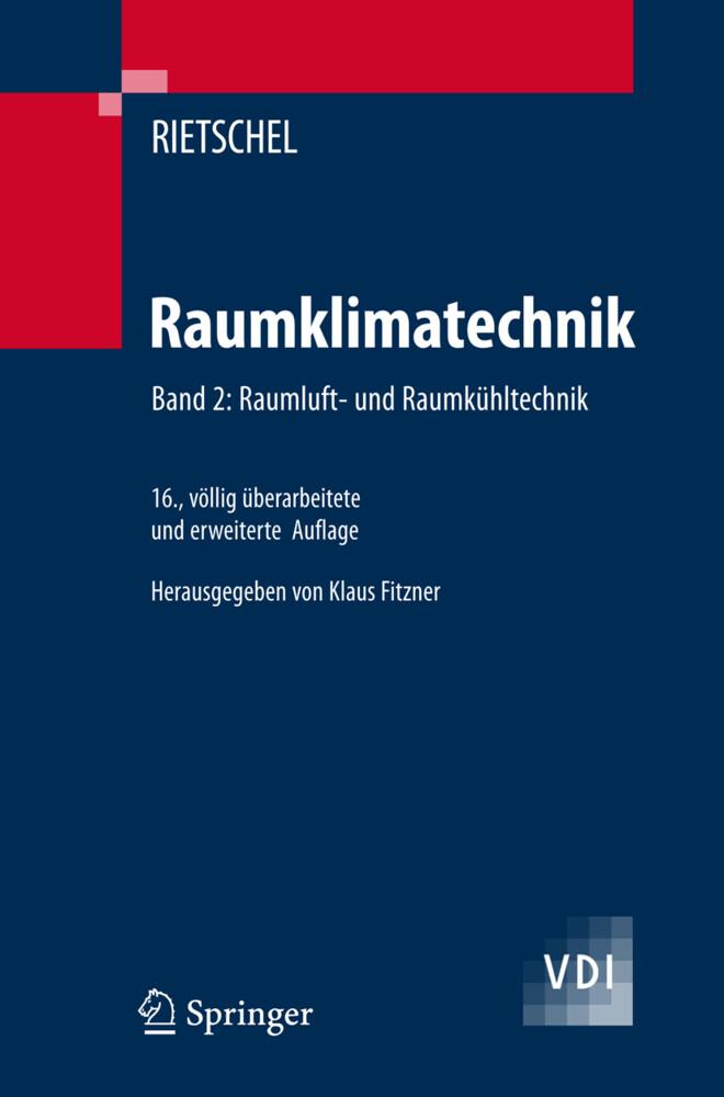 Raumluft- und Raumkühltechnik als Buch (gebunden)
