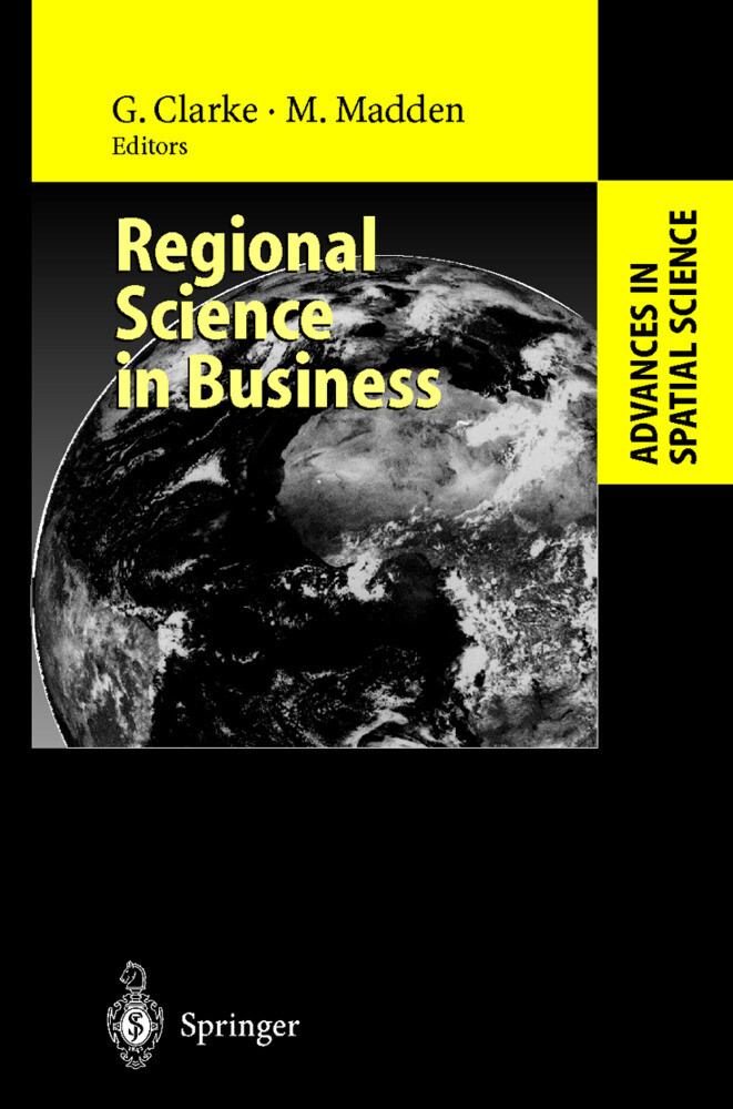 Regional Science in Business als Buch (gebunden)