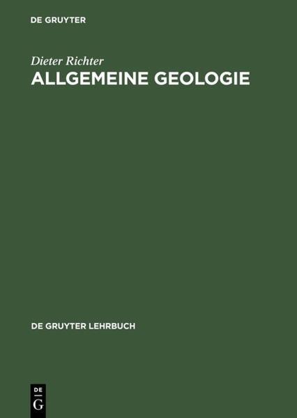 Allgemeine Geologie als Buch (gebunden)
