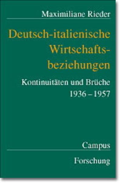 Deutsch-italienische Wirtschaftsbeziehungen als Buch (kartoniert)