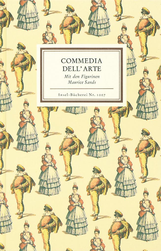Commedia dell' Arte als Buch (gebunden)