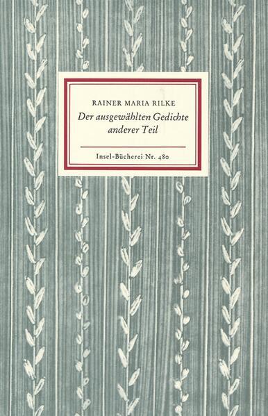 Der ausgewählten Gedichte anderer Teil als Buch (kartoniert)