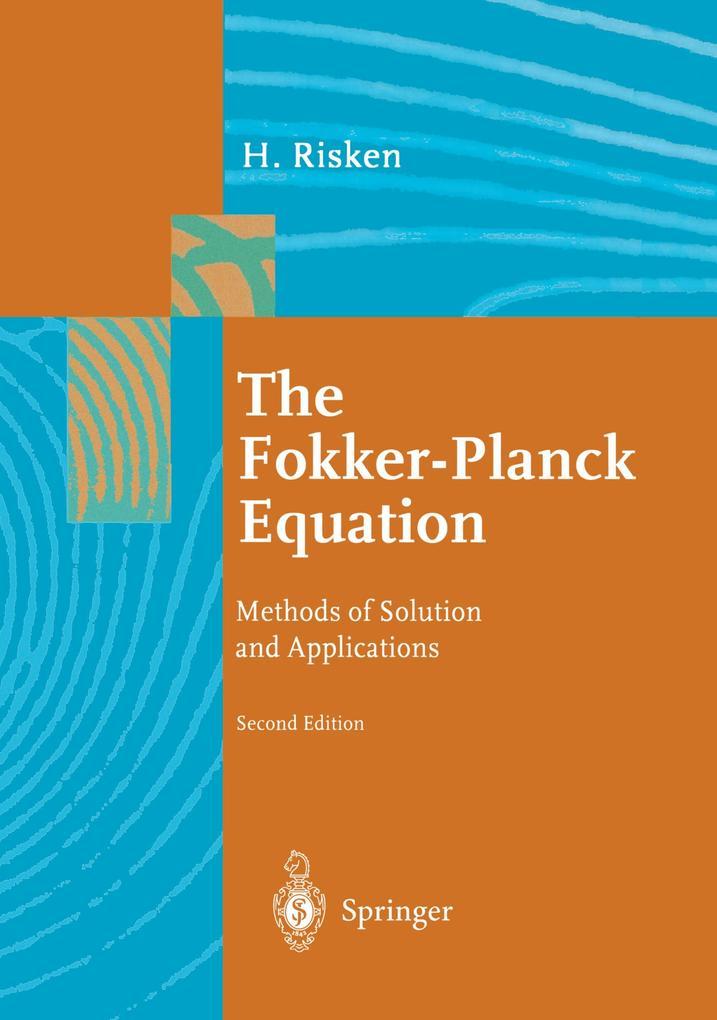 The Fokker-Planck Equation als Buch (kartoniert)