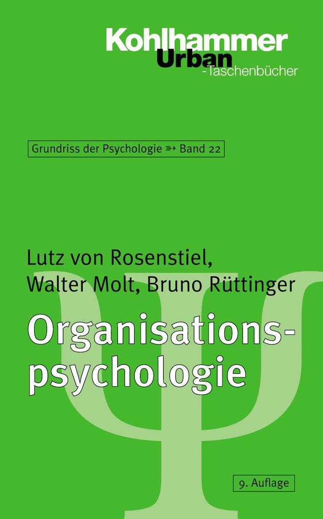 Organisationspsychologie als Taschenbuch