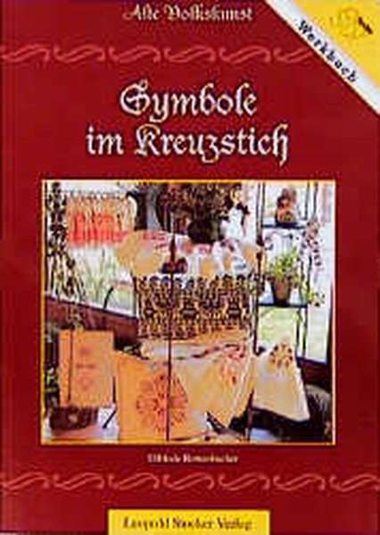 Symbole im Kreuzstich als Buch (gebunden)