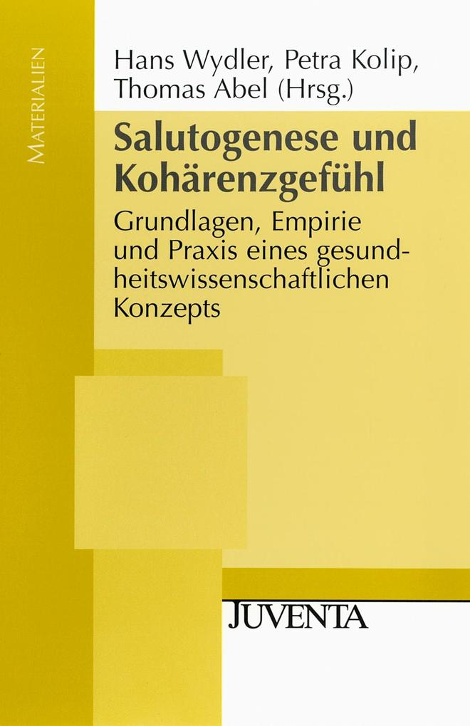 Salutogenese und Kohärenzgefühl als Buch (kartoniert)