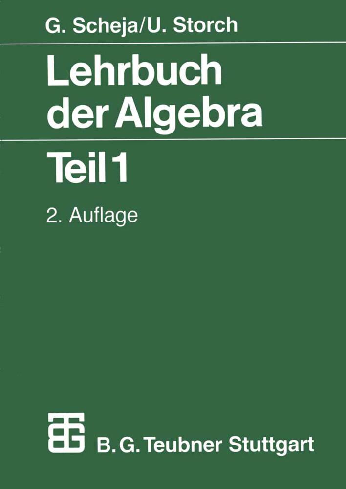 Lehrbuch der Algebra als Buch