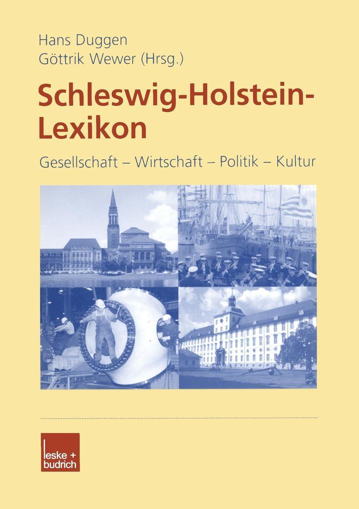 Schleswig-Holstein Lexikon als Buch (kartoniert)