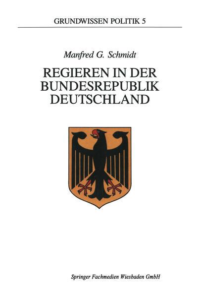 Regieren in der Bundesrepublik Deutschland als Buch (kartoniert)