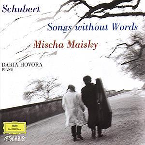 Sonate D 821/Lieder Ohne Worte als CD