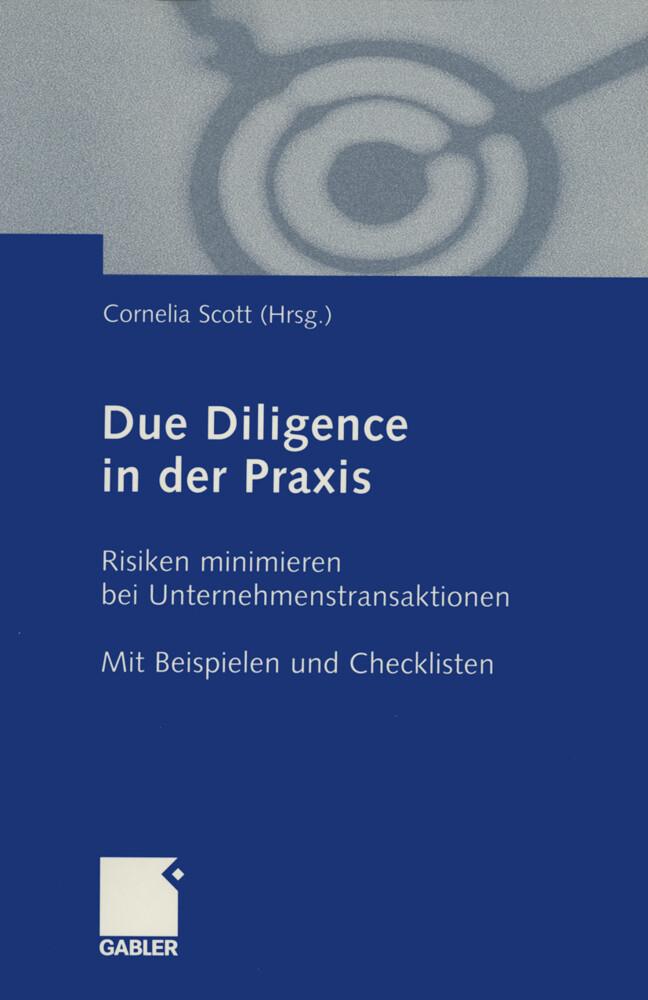 Due Diligence in der Praxis als Buch (kartoniert)
