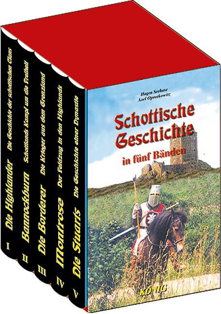 Schottische Geschichte in 5 Bänden als Buch (gebunden)