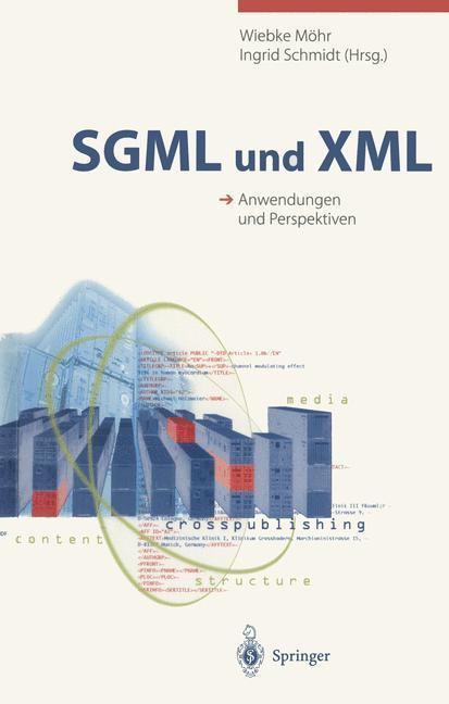 SGML und XML als Buch (kartoniert)
