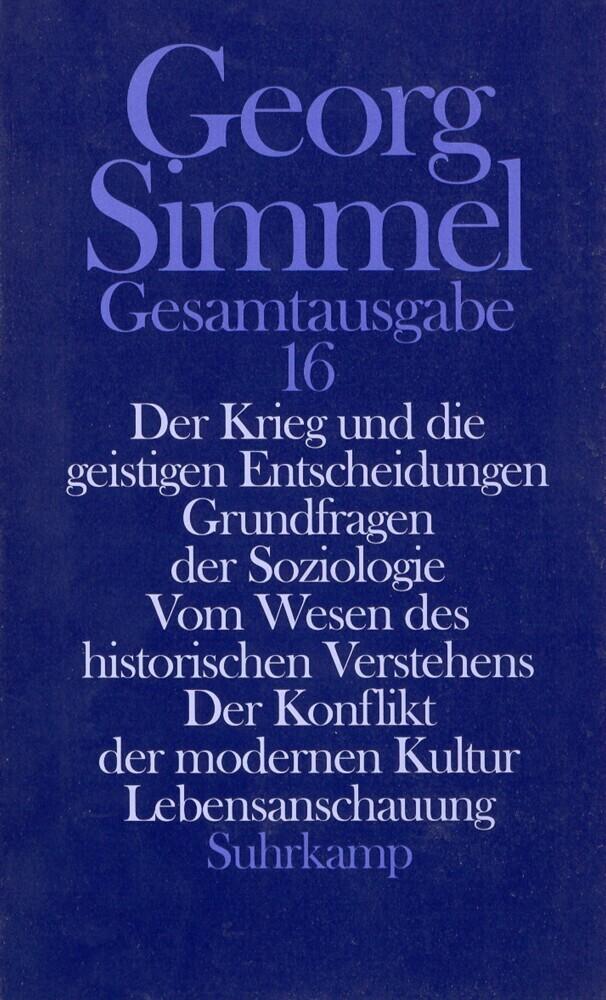 Der Krieg und die geistigen Entscheidungen; Grundfragen der Soziologie; Vom Wesen des historischen V als Buch (gebunden)