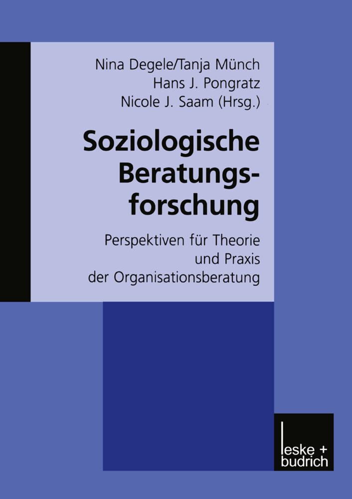 Soziologische Beratungsforschung als Buch (kartoniert)