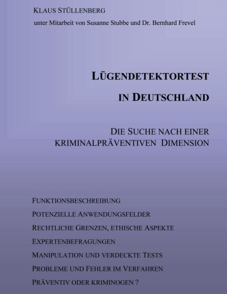 Lügendetektortest in Deutschland als Buch (kartoniert)