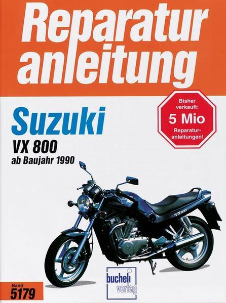 Suzuki VX 800 (ab 1990) als Buch (kartoniert)