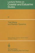 Tidal Mixing and Plankton Dynamics