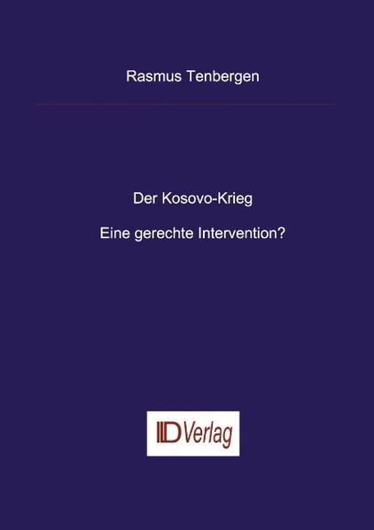Der Kosovo-Krieg als Buch (kartoniert)