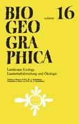 Landscape Ecology/Landschaftsforschung Und Ökologie: Volume in Honour of Prof. Dr. J. Schmithüsen/Festschrift Zu Ehren Von Prof. Dr. J. Schmithüsen