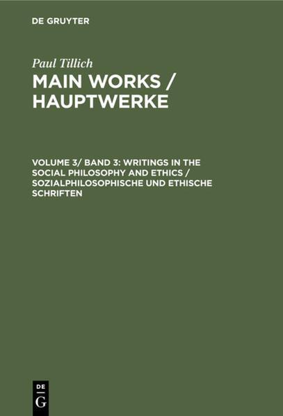Sozialphilosophische und ethische Schriften / Writings in Social Philosophy and Ethics als Buch (gebunden)