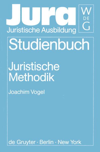 Juristische Methodik als Buch (gebunden)