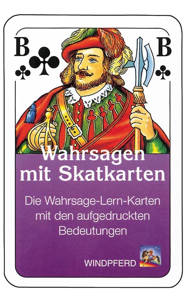 Skatkarten als Blätter und Karten