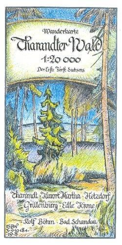 Tharandter Wald 1 : 20 000 als Blätter und Karten