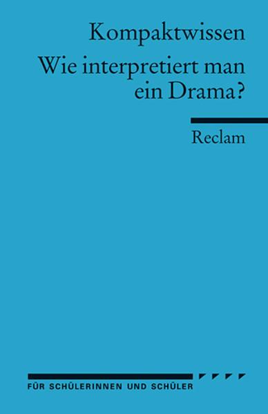 Literaturwissen, Wie interpretiert man ein Drama? als Taschenbuch