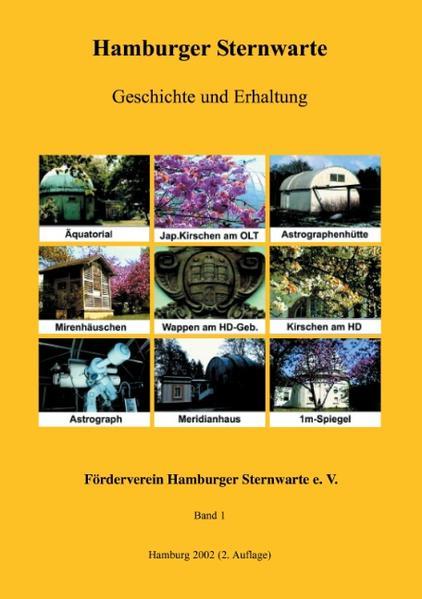 Hamburger Sternwarte - Geschichte und Erhaltung als Buch (kartoniert)