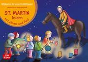 Bildkarten für unser Erzähltheater: St. Martin feiern mit Emma und Paul