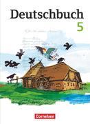 Deutschbuch 5. Schuljahr. Schülerbuch Gymnasium Östliche Bundesländer und Berlin
