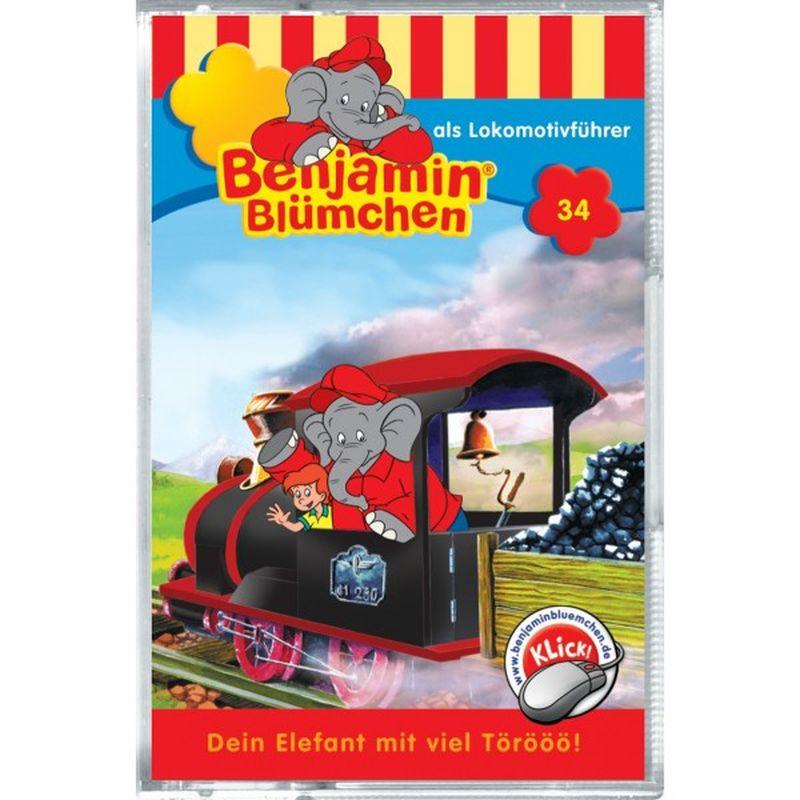 Benjamin Blümchen als Lokomotivführer, 1 Cassette als Kassette
