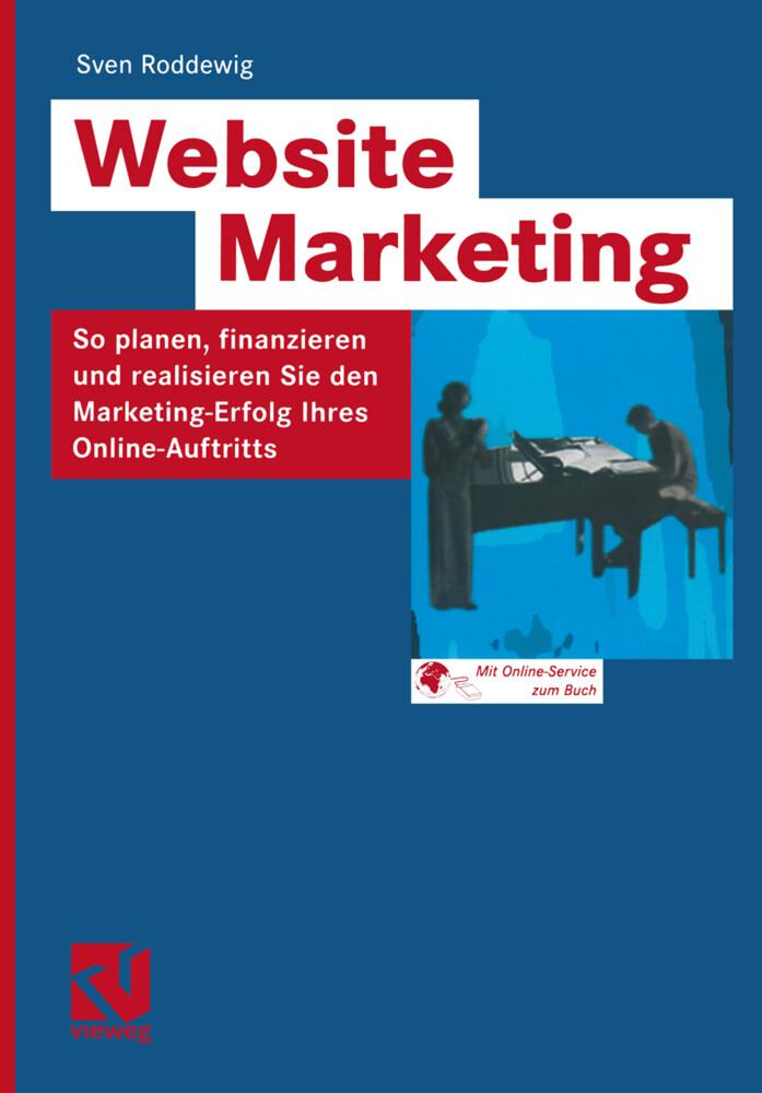 Website Marketing als Buch (kartoniert)