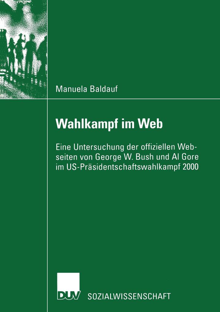 Wahlkampf im Web als Buch (kartoniert)