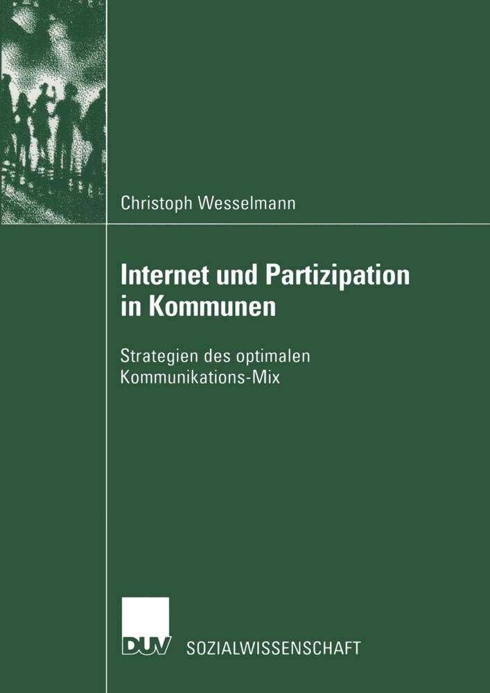 Internet und Partizipation in Kommunen als Buch (kartoniert)