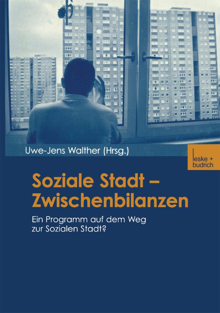 Soziale Stadt - Zwischenbilanzen als Buch (kartoniert)