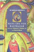 Cambridge Companion to Hans Urs von Balthasar