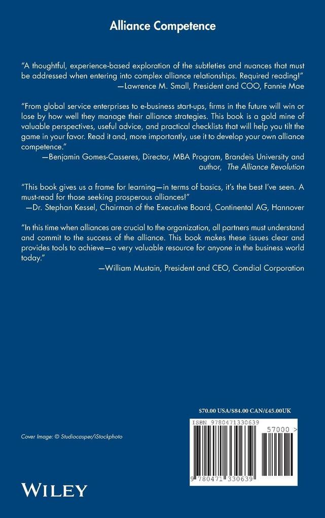 Alliance Competence als Buch (gebunden)