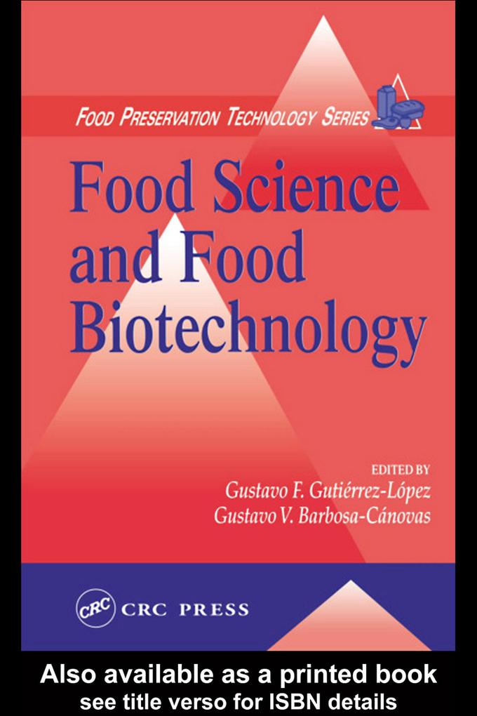 Food Science and Food Biotechnology als eBook pdf