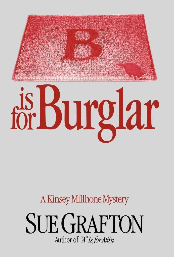 B Is for Burglar als Buch (gebunden)