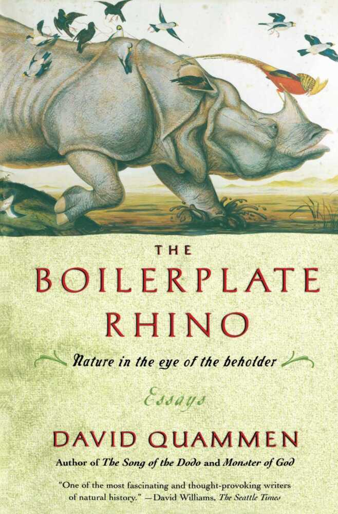 The Boilerplate Rhino: Nature in the Eye of the Beholder als Taschenbuch
