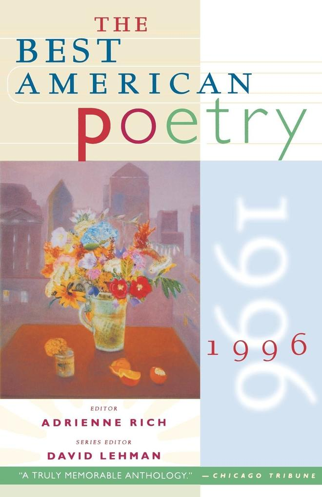The Best American Poetry 1996 als Buch (kartoniert)