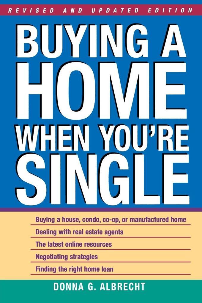 Buying a Home When You're Single als Taschenbuch