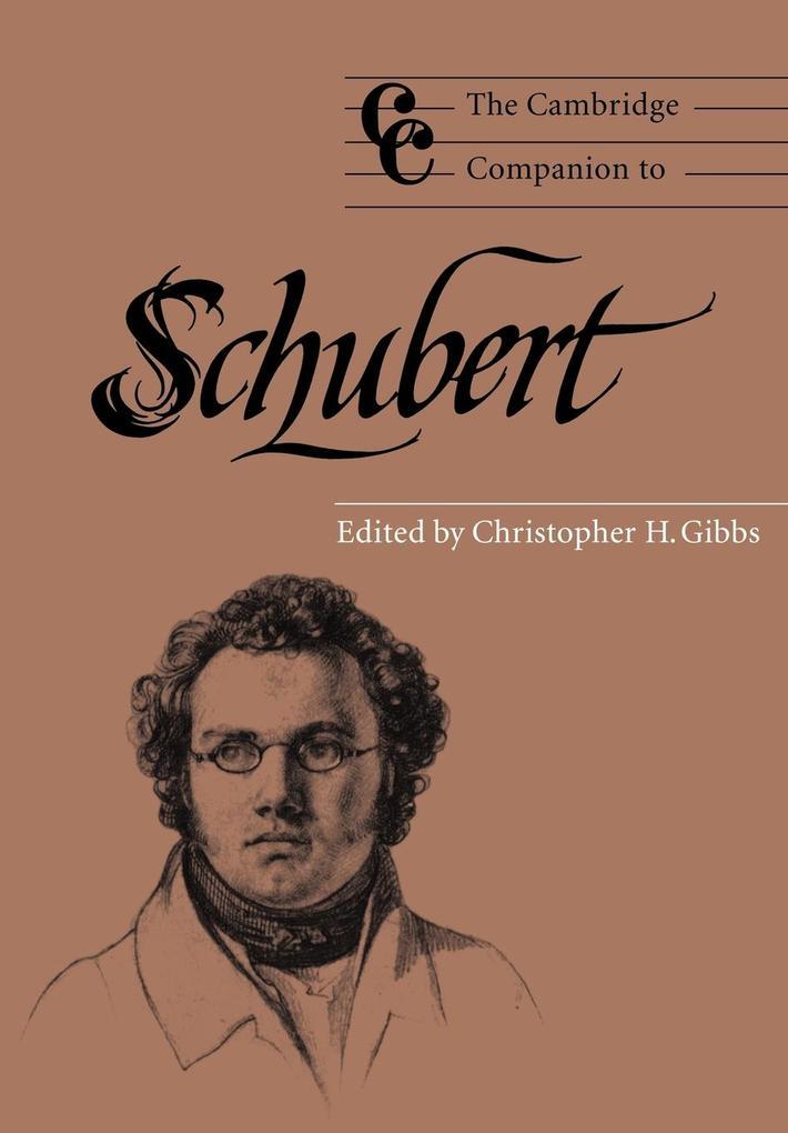 The Cambridge Companion to Schubert als Buch (kartoniert)