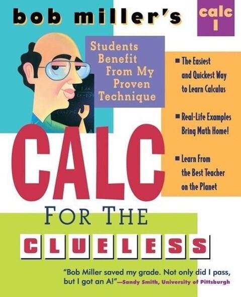 Bob Miller's Calc for the Clueless: Calc I als Taschenbuch